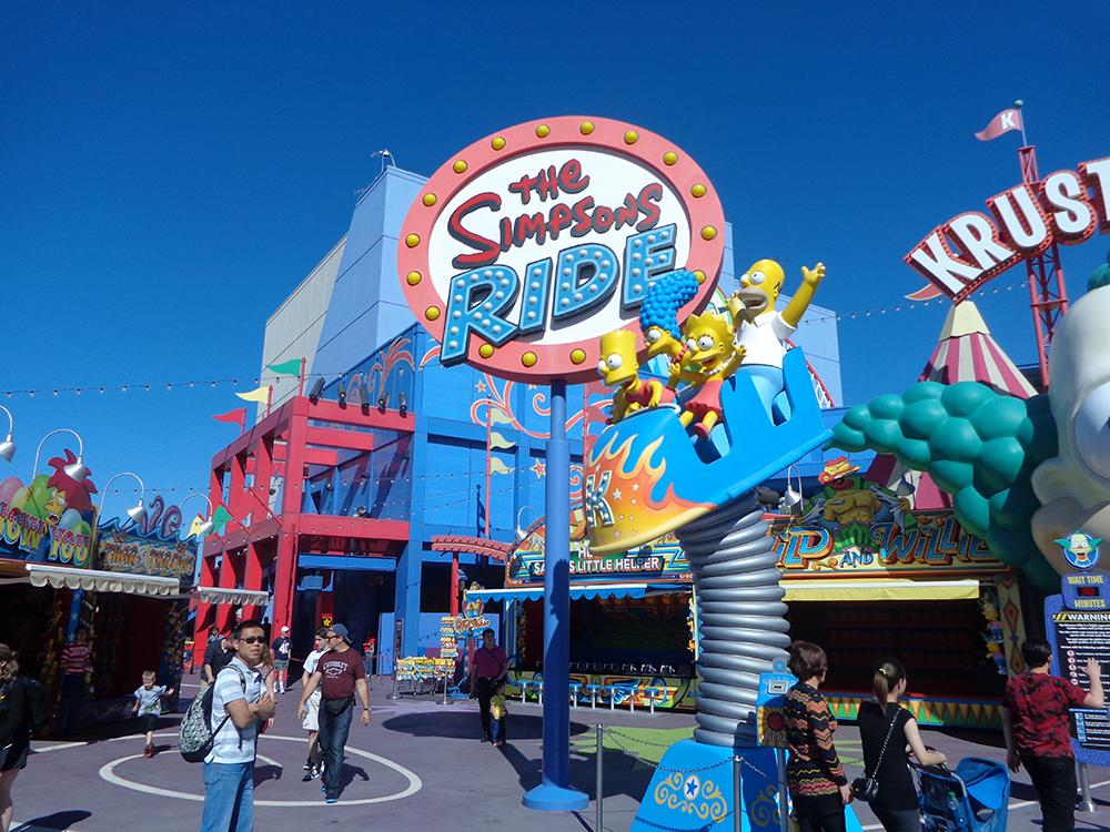 Foto 5 - Simpsons Ride